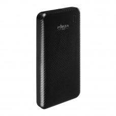 FORZA Аккумулятор мобильный, 6000 мАч, 2 USB, 1А, пластик, 4 цвета