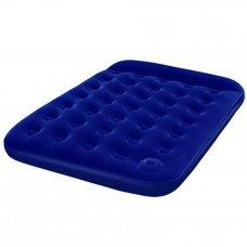 BESTWAY Кровать надувная Double Easy Inflat 191x137x22см, 2 местн., встроенный ножной насос, 67225N