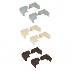 VETTA Накладки - протекторы на углы, 6х3 см, каучук, 3 цвета