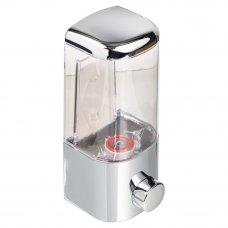 SonWelle Дозатор для жидкого мыла, настенный, 500мл, хром, ПВХ