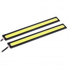 NEW GALAXY Дневные ходовые огни, LED 20шт, метал. корп., 142мм, 12V, белый, 2шт.