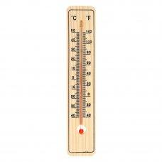 INBLOOM Термометр деревянный Классик малый, блистер, 20х4см