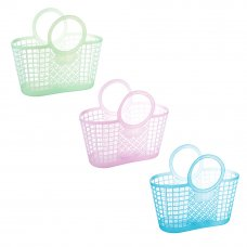 VETTA Корзина хозяйственная пластик, 24х23х9,5см, 3 цвета
