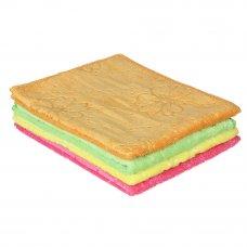 VETTA Салфетка из микрофибры универсальная махровая с узором, 30х40см, 300 г/кв.м. 4 цвета