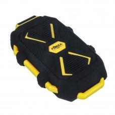 FORZA Аккумулятор мобильный, 5000мАч, IP67 (ударопр, влаго-водонепрон.корпус), фонарь, пластик