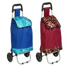 VETTA Тележка + сумка, грузоподъемность до 30кг, брезент, ЭВА, 35*28*92CM, колесо d15см, WQ-111