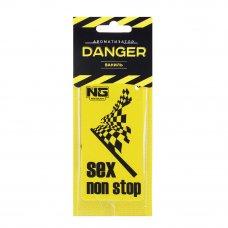 NEW GALAXY Ароматизатор бумажный Danger/Sex non stop, ваниль