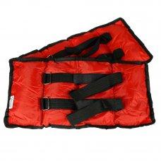 SILAPRO Набор утяжелителей для рук и ног текстильный, вес 3кг(+-100гр), 2шт х 1,5кг, 37х15см, 2цвета