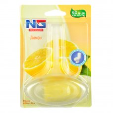 """NEW GALAXY Освежитель для унитаза подвесной """"Лимон"""" 40гр. 1шт, блистер"""