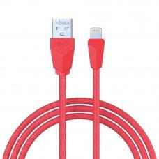 FORZA Кабель для зарядки iP, Комфорт, 1м, 1A, покрытие TPE, 5 цветов