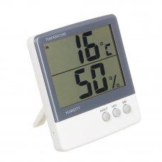 INBLOOM Термометр электронный 2 режима, с уличным датчиком, пластик, 10,8x10см, HTC-3