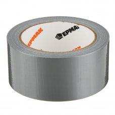 ЕРМАК Клейкая лента армированная серебряная 48мм х 25м, инд.упаковка
