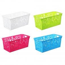 VETTA Корзина-подставка, пластик, 29,5х15х12см, 4 цвета