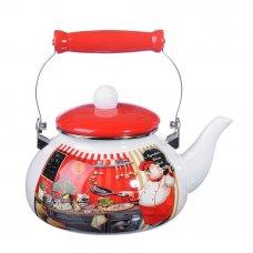 VETTA Повар Чайник эмалированный 2,5л, индукция