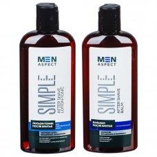 Лосьон-тоник/Бальзам после бритья Men Aspect для чувствительной кожи, флакон 140 мл