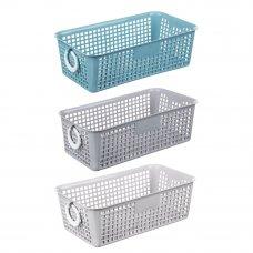 "VETTA Блок для хранения мелочей ""Корзина"", 20x11x7см, пластик, 3 цвета"
