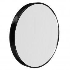 ЮниLook Зеркало с 10-ти кратным увеличением на присосках, металл, пластик, d13см