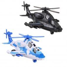 """ИГРОЛЕНД Игрушка в виде вертолета """"Военная операция"""", свет, звук, инерц., движ., ABS, 20х12х8,2см"""