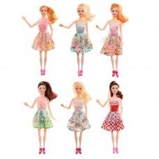 ИГРОЛЕНД Кукла в стильной одежде, шарнирная, 29см, PP,PVC, полиэстер, 6дизайнов