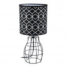 FORZA Лампа настольная, E14, 30см, 40Вт, металл, текстиль