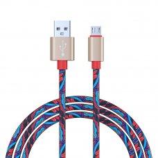 FORZA Кабель для зарядки Micro USB, Жар Птица, 1м, 1,5A, 4 цвета