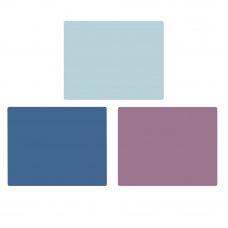 VETTA Доска разделочная, пластик, гибкая 37x29x0,23см, 3цвета, CY-385-2