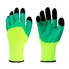 INBLOOM Садовые перчатки, 9 размер, нейлон с пенополиуретановым обливом, 50 гр