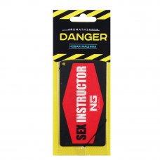 NEW GALAXY Ароматизатор бумажный Danger/Sexinstuctor, новая машина