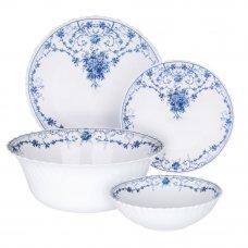 MILLIMI Ариадна Набор столовой посуды 19 пр., опаловое стекло, 17099B