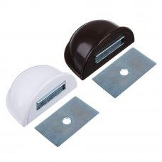 VETTA Стопор дверной магнитный, пластик, металл, 2,5х5см, 2 цвета